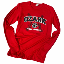 Load image into Gallery viewer, Ozark Baseball Long-Sleeve T-Shirt