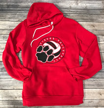 Load image into Gallery viewer, Ozark Volleyball Soft Red Hoodie
