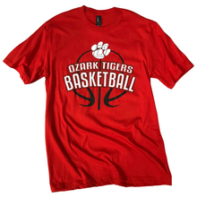 Load image into Gallery viewer, Ozark Basketball Soft T-Shirt Youth/Adult