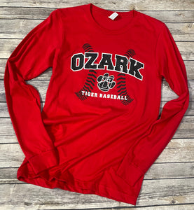 Ozark Baseball Long-Sleeve T-Shirt