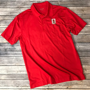 Ozark Sport-Wick Red Polo