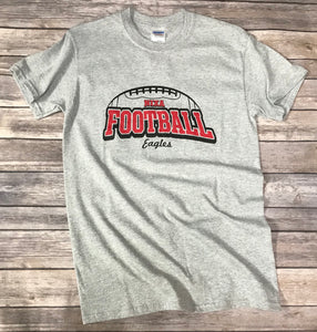 Nixa Football Gray T-Shirt