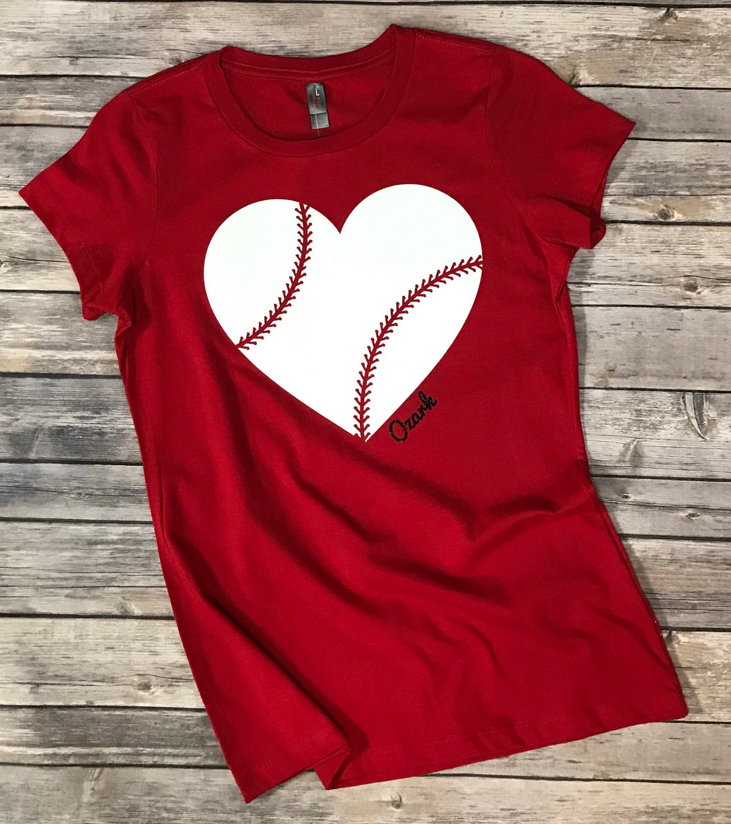 Ozark Baseball Sparkle T-Shirt