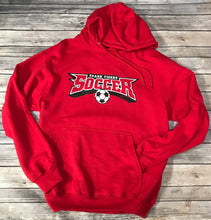 Load image into Gallery viewer, Ozark Soccer Red Hoodie