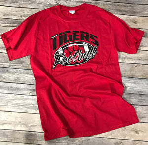 Ozark Football Red T-Shirt