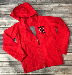 Ozark Youth Jacket Red/Black