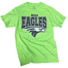 Load image into Gallery viewer, Nixa Eagles Neon Green/Yellow/Orange T-Shirt