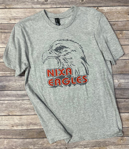 Nixa Eagle Soft Gray T-Shirt