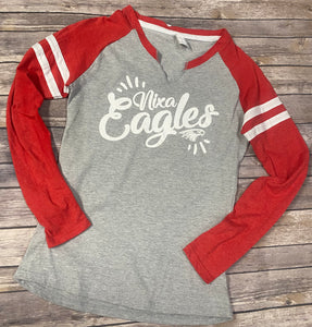 Nixa Eagles Ladies Jersey Long-Sleeve Shirt