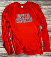 Load image into Gallery viewer, Nixa Eagles Polyester Short/Long Sleeve T-Shirt