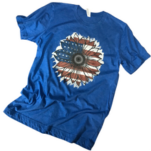Load image into Gallery viewer, American Sunflower T-Shirt