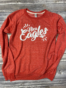 Nixa Eagles Snow Heather Sweatshirt