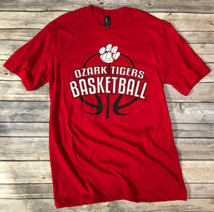 Ozark Basketball Soft T-Shirt Youth/Adult
