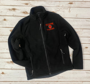 Ozark Tigers Black Fleece Jacket