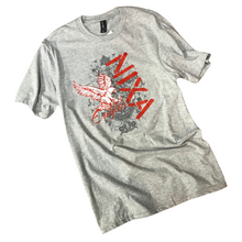 Load image into Gallery viewer, Nixa Eagles Soft Gray T-Shirt