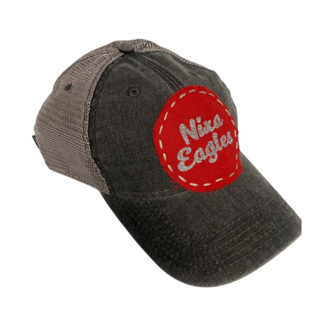 Nixa Eagles Glitter Hat