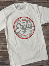 Load image into Gallery viewer, Nixa Eagles White T-Shirt