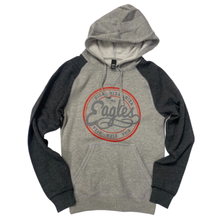Load image into Gallery viewer, Nixa Eagles Raglan Hoodie