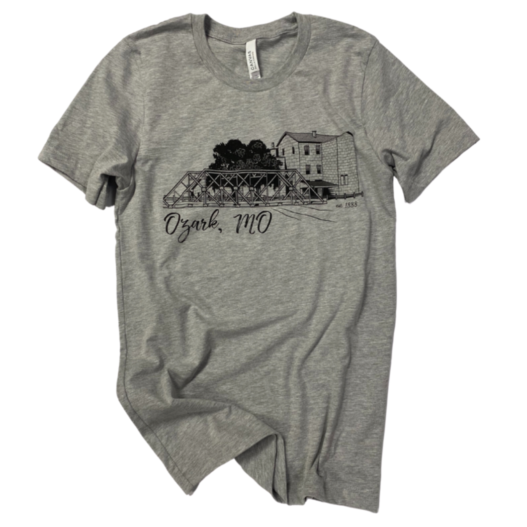 Ozark, MO Bridge T-Shirt