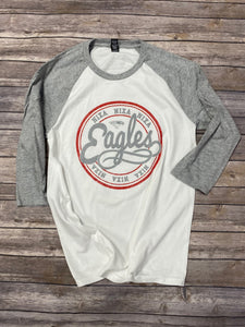 Nixa Eagles Raglan T-Shirt