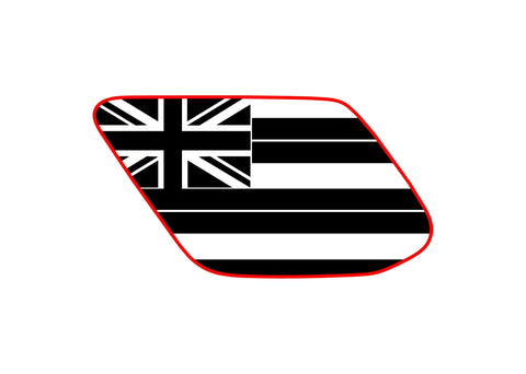 Hawaii state flag 4runner 5th 4TH gen 3rd Gen  ( precut ) - OGRAPHICS