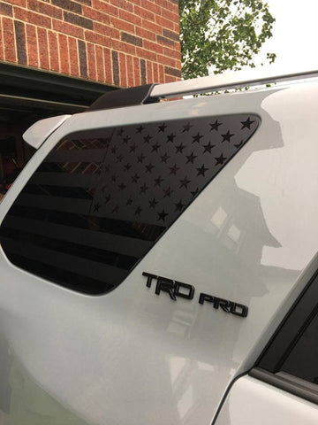 Toyota 4runner 5th gen flag decal