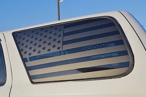 Toyota 4runner 3rd gen flag decal