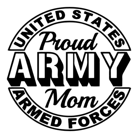 Army Mom decal 2 - OGRAPHICS