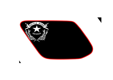 Nevada state flag toyota 4runner 5th 4TH gen 3rd Gen  ( precut ) - OGRAPHICS