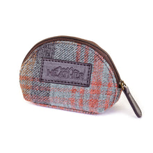 Load image into Gallery viewer, ZB043 Natalie British Tweed Coin Purse
