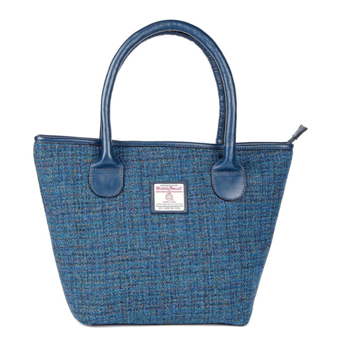 ZB075 Fiona Harris Tweed/LeatherTote Bag