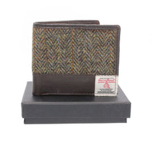 Load image into Gallery viewer, ZB080 Callum Harris Tweed/Leather Wallet
