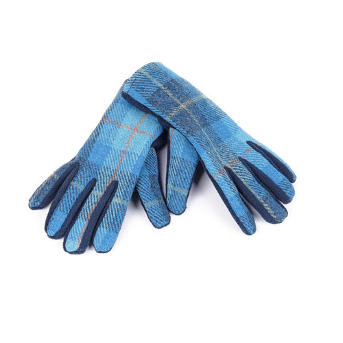 ZG012 Isla Harris Tweed Fleece Gloves