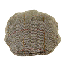 Load image into Gallery viewer, ZH010 Fox Derby Tweed Flat Cap