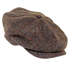 Load image into Gallery viewer, ZH028 Scott Newsboy Harris Tweed 8 Piece Cap