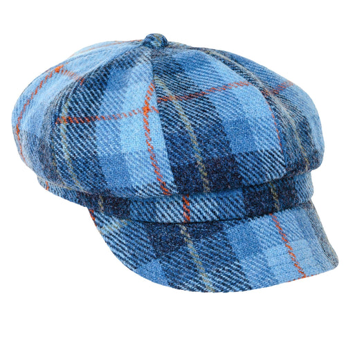 ZH051 Rosalie Harris Tweed Baker Boy Cap