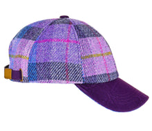Load image into Gallery viewer, ZH052 Rosalie Harris Tweed Baseball Cap