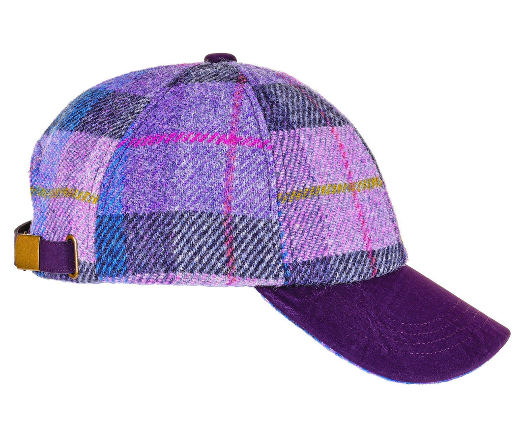 ZH052 Rosalie Harris Tweed Baseball Cap