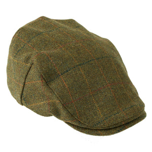 ZH097 Kinloch Waterproof British Tweed Flat Cap