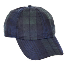 Load image into Gallery viewer, ZH214 Ewan Tartan Wax Baseball Cap
