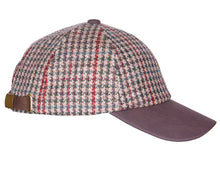 Load image into Gallery viewer, ZH220 Stewart British Wool Tweed Baseball Cap