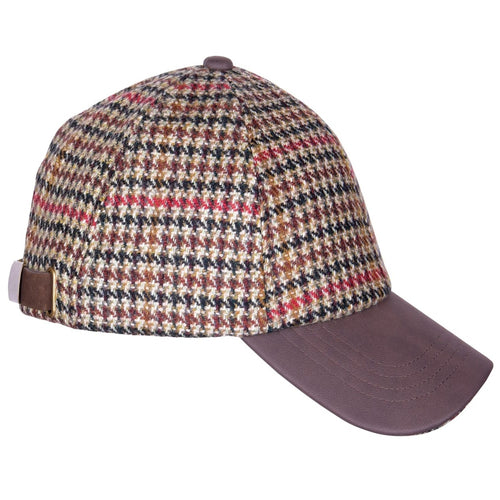 ZH220 Stewart British Wool Tweed Baseball Cap