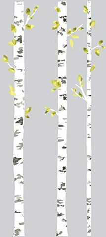 RoomMates RMK2662GM Birch Trees Peel And Stick Giant Wall Decals, Multicolor