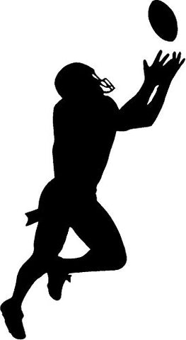 CreativeSignsnDesigns Football Player Large Vinyl Decal- Boys Bedroom Decor
