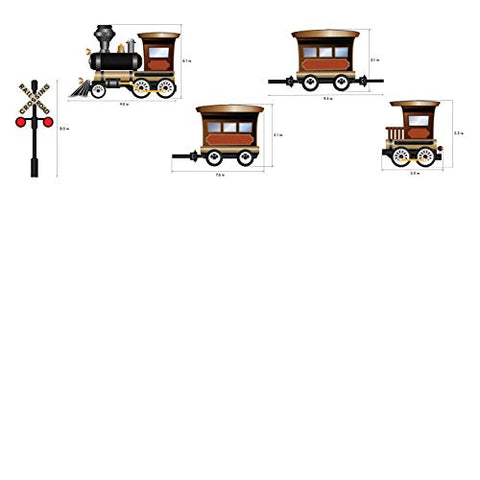 Vintage Train Wall Decal