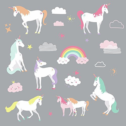 RoomMates Unicorn Magic Peel And Stick Wall Decals