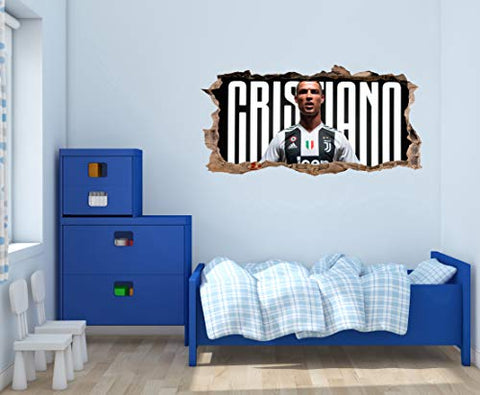 Cristiano R Juve Wall Decal