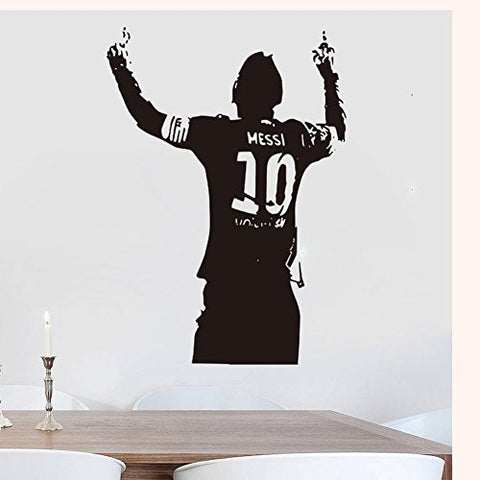 Messi Football Barcelona Soccer Wall Decal