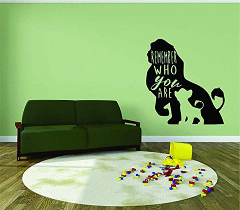The LION KING WALL DECALS FOR KIDS ROOMS Simba Mufasa DESIGNS Decor Lions Boys Boy Childrens Creative Animated Vinyl Decal Removable Stickers Bedrooms Artwork Interesting Disney Size 20x18 inch