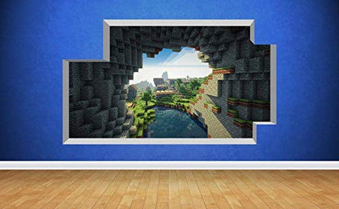 Extra Wide Mine Themed Mural - The Cave Entrance - Available in Two Sizes
